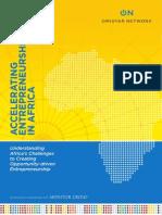 Omidyar Network (2013)...Accelarting Entrepreneurship in Africa