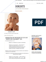 (MILES CHRISTI_ HEREJÍAS DE BENEDICTO XVI EN _JESÚS DE NAZARET_ _(II_))