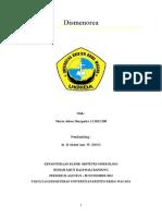 OBGYN - Referat Dismenorea (Dr.azis)