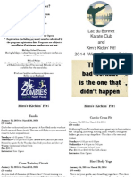 Winter 2014 Karate & Fitness Program Booklet