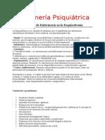 Enfermería Psiquiátrica planes de cuidados