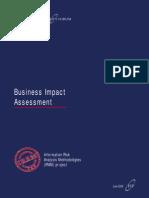 IRAM- Business Impact Assessment
