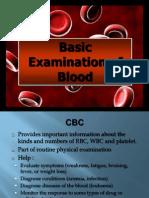 4. Basic Examination of Blood (4)
