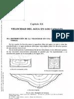 Manual de Hidraulica Cap.20 Velocidad en Canales