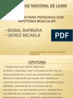 Power Natacion Para Hipotonia Muscular
