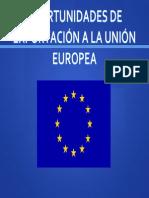 Oportunidaes Exp UE