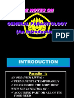 Lecture1- General Parasitology