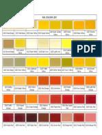 RAL Colour List