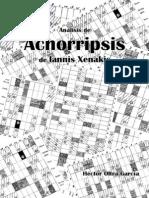 Xenakis - Analisis de Achorripsis