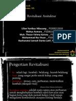 Revitalisasi Arsitektur (Studi Kasus KOTA LAMA KENDARI)