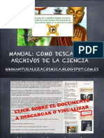 Manual La Ciencia de la Naturaleza