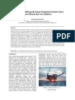 Aplikasi Survei Hidrografi Dalam Pengelolaan Sumber Daya Migas (Offshore)