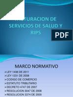 Facturacion de Servicios de Salud - Rips