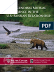 Transcending Mutual Deterrence in the U.S.-Russian Relationship