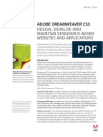 Cs3 Dreamweaver Whatsnew
