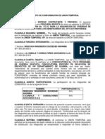 Documento Union Temporal Vip - Convocatoria 172