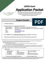 CATCH application