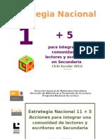 11+5 Secundaria