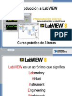 Introduction to LabVIEW 8 in 3 HoursTraducción