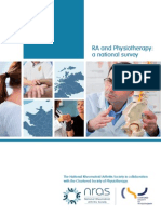 Ra and Physiotherapy Report 12 October 2011