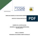 Especialidad ISC