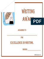 award writing