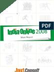 JuxtConsult India Online 2008 Main Report