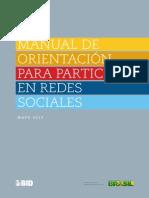 Manual de Orientacion Para Participar en Redes Sociales