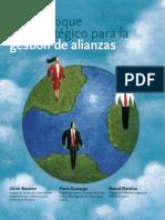 Un enfoque estratégico para la gestión de alianzas