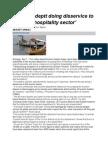 Tourism Deptt Doing Disservice to Kashmir Hospitality Sector