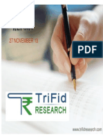 Equity Daily Technical Report 27 November by Trifidresearch