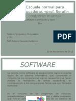 Software. Clasificación y tipos