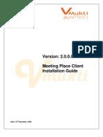 Conferencing Software Client Setup