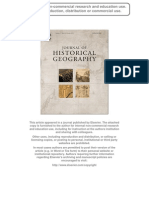 2011 Journal of Historical Geography