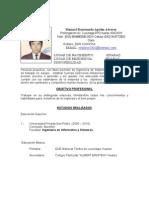 Curriculum Manuel Apolin Alvarez