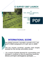 Kenya Economic Survey 2007