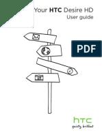 HTC Desire HD Manual