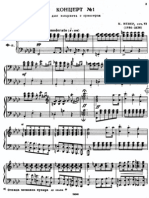 Carl Maria Von Weber Konzert Nr.1 F Moll Op 73 Klarinette Klavier Ver