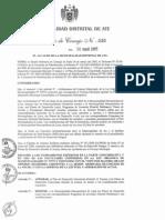 Plan Integral de Desarrollo Del Distrito de ATE - 2003 - 2015