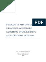 PROGRAMA DE ATENCIÓN KINÉSICA EN PACIENTE AMPUTADO DE EXTREMIDAD INFERIOR ii parte