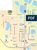 Downtown Area Map