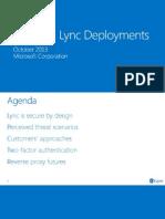 Module 09 - Lync Ignite - Securing Lync Deployments