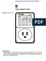 Timer Manual N21JU