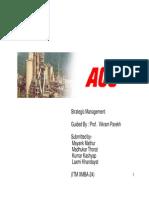 ACC ( Strategic Management )