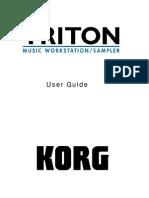 Korg Triton User Guide