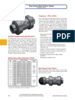 020 True Union Ball Check Valves (Regular Style)