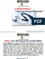 6 Admonitions| For the 21st Century  Future Physician, Marc Imhotep Cray, M.D.