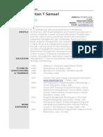CV Seb Profile