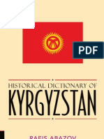 Abazov - Historical Dictionary of Kyrgyzistan