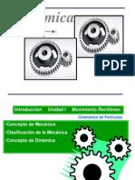 teoría de movimiento rectilíneo pdf